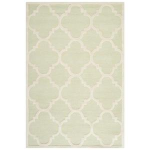 Safavieh Cambridge Light Green and Ivory Area Rug,CAM140B-6
