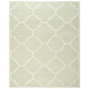 Safavieh Cambridge Light Green and Ivory Area Rug,CAM140B-8