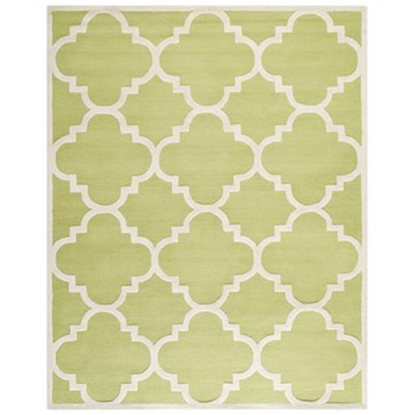 Safavieh Cambridge Green and Ivory Area Rug,CAM140T-8