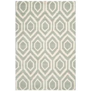 Safavieh Chatham Grey and Ivory Area Rug,CHT731E-6
