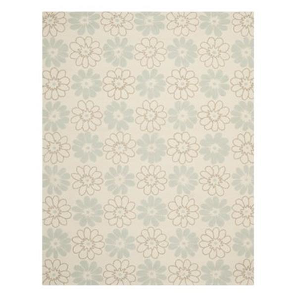 Safavieh Four Seasons Ivory and Light Blue Area Rug,FRS220A-