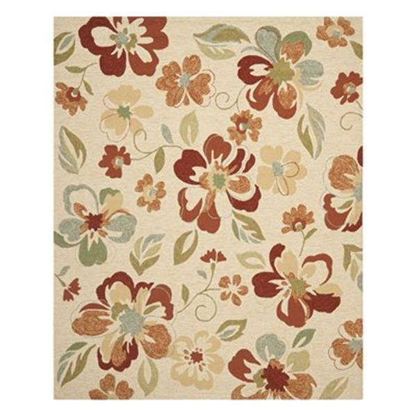 Safavieh FRS226A Four Seasons Area Rug, Beige / Red,FRS226A-