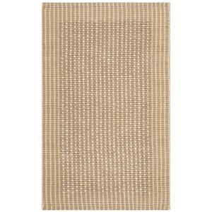 Safavieh Natural Fiber Ivory and Beige Area Rug,NF449A-8