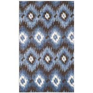 Safavieh RET2143-2865 Retro Area Rug, Dark Brown / Blue,RET2