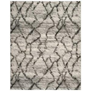 Safavieh Retro Light Grey and Black Area Rug,RET2144-7990-8