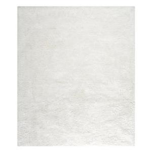 Safavieh SBS562A South Beach Shag Area Rug, Snow White,SBS56