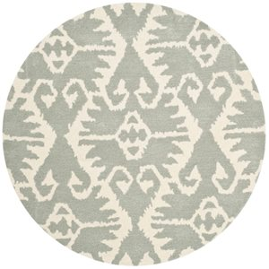 Safavieh Wyndham Grey and Ivory Area Rug,WYD323G-7R