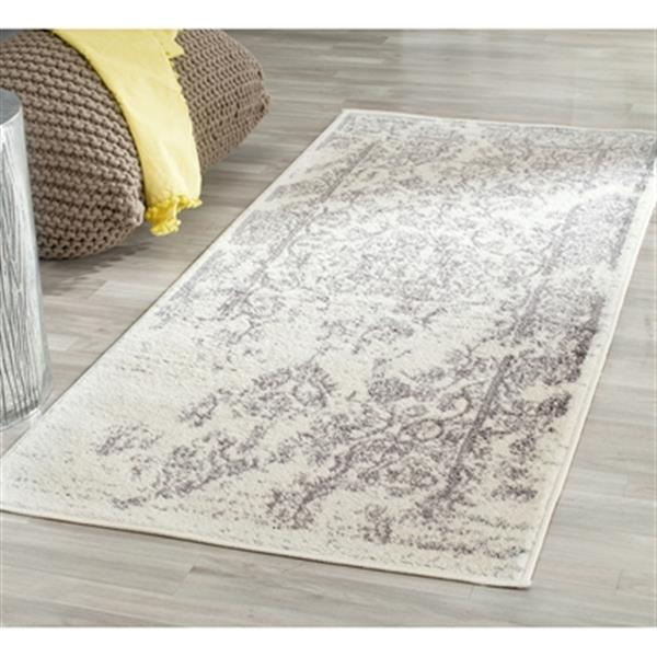 Safavieh Adirondack Ivory and Silver Area Rug,ADR101B-10