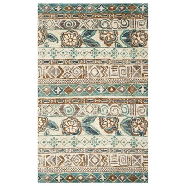 Safavieh BOH636A Bohemian Bleach and Gold Area Rug,BOH636A-5