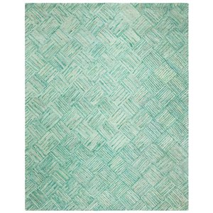 Safavieh Nantucket Green and Multi-Colored Area Rug,NAN316A-