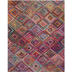 Safavieh Nantucket Multi-Colored Area Rug,NAN317A-8