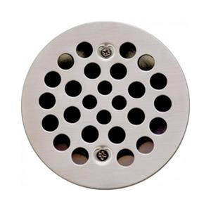 Valley Affordable Luxury 4.25-in Brushed Nickel Shower Drain