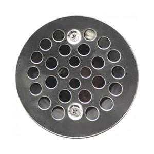 Valley Affordable Luxury 4.25-in Polished Chrome Shower Drain