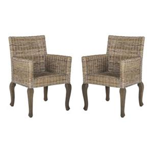 Brassex Alexis Brown Bar Stool Set Of 2 Rona