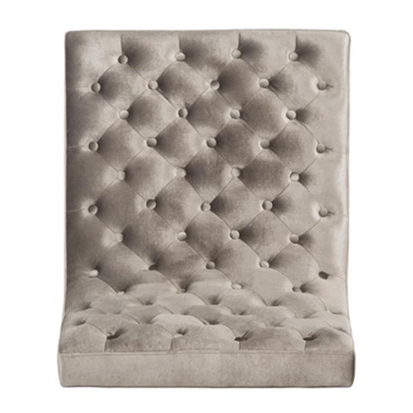 Safavieh FOX6283 Hadley Velvet Tufted Accent Chair,FOX6283A