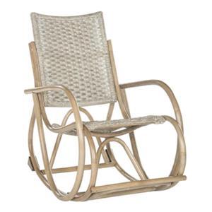 Safavieh Gray Bali Rocking Chair