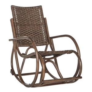 Safavieh Black Bali Rocking Chair