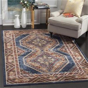 Safavieh Bijar Royal and Rust Area Rug,BIJ647B-8