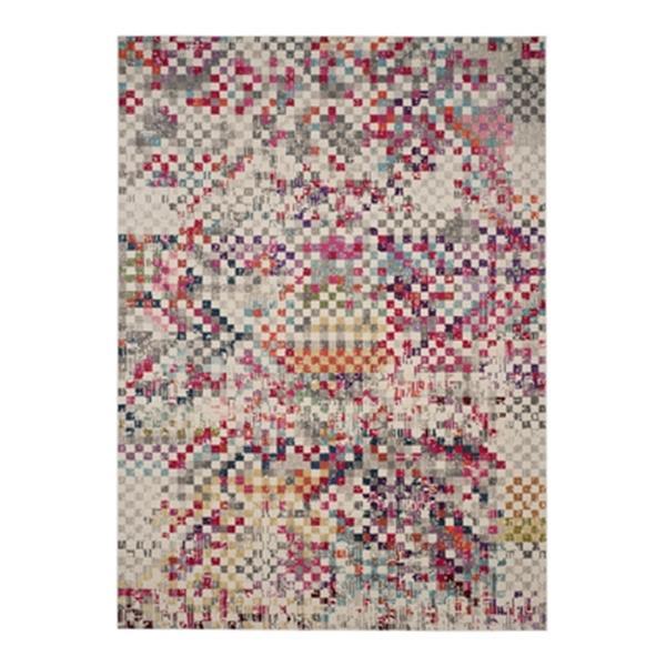 Safavieh Monaco Grey Multicolor Area Rug,MNC241G-8