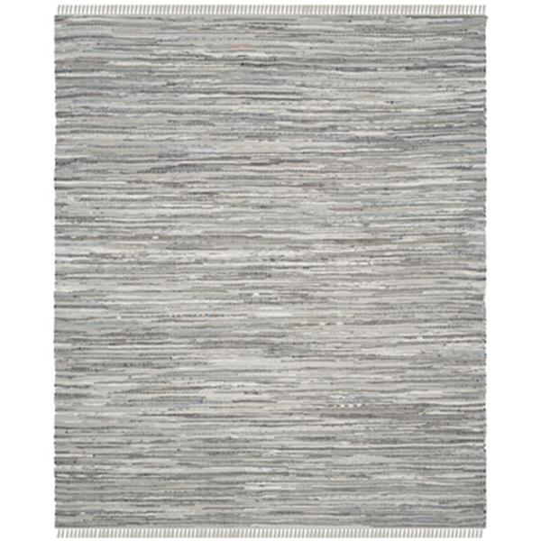 Safavieh Rag Rug Cotton Grey Indoor Area Rug,RAR121A-10