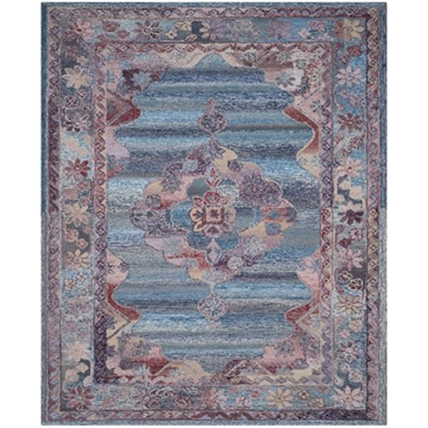 Safavieh Vintage Oushak Hand-Tufted Blue Area Rug,VOS740A-8