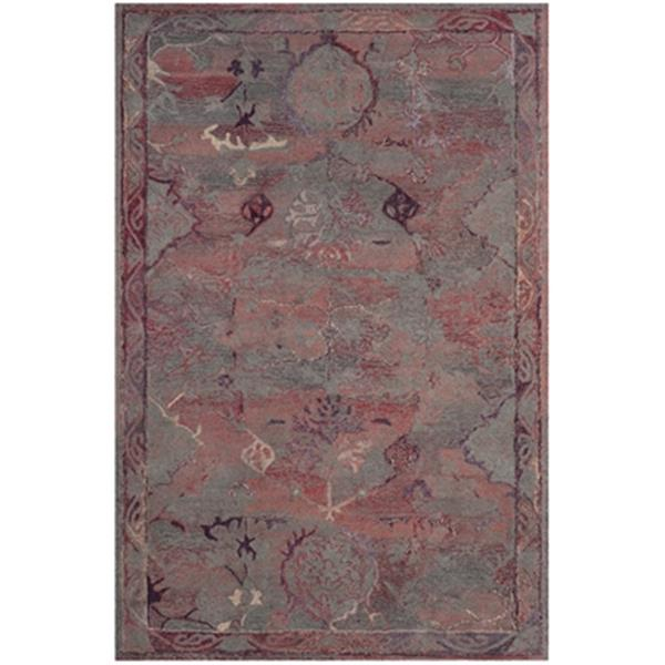 Safavieh Vintage Oushak Hand-Tufted Red Area Rug,VOS741C-6