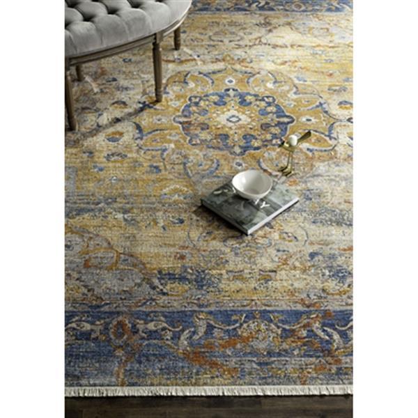 Safavieh Vintage Persian Blue Multicolor Area Rug,VTP435B-8