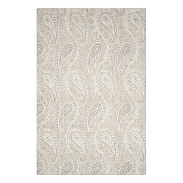 Safavieh MIR855B Mirage Loom Knotted Ivory/Silver Area Rug,M