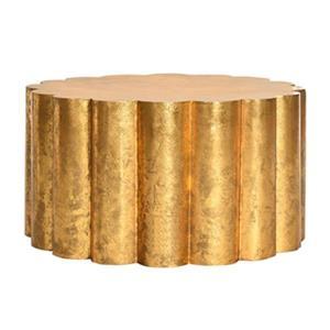 Safavieh Miriam Gold Metal Coffee Table