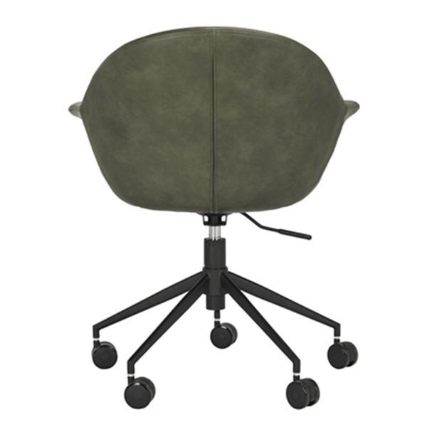 Safavieh 31.5-in Green Ember Office Chair