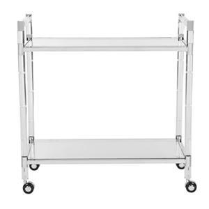 Safavieh Renzo  31.5-in x 32.29-in Indoor/Outdoor Bar Cart