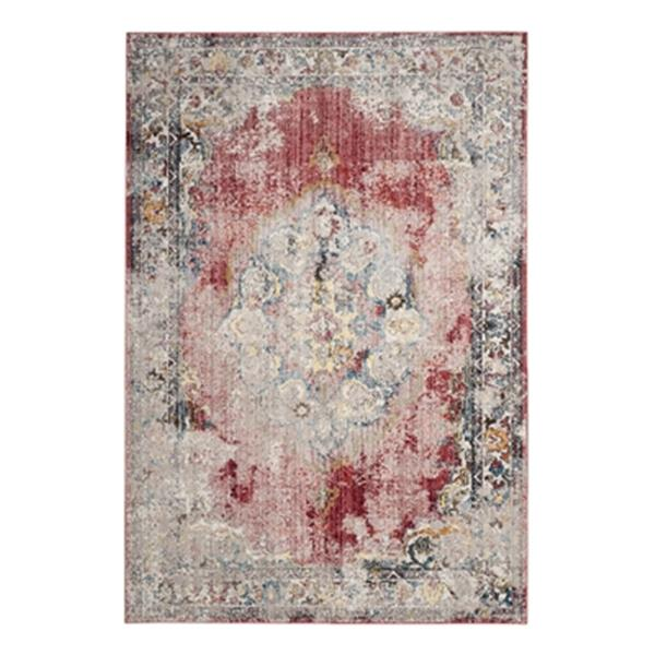 Safavieh Bristol Rose and Light Grey Area Rug,BTL343R-8