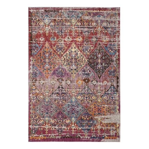 Safavieh Bristol Rose and Multicolor Area Rug,BTL352R-8