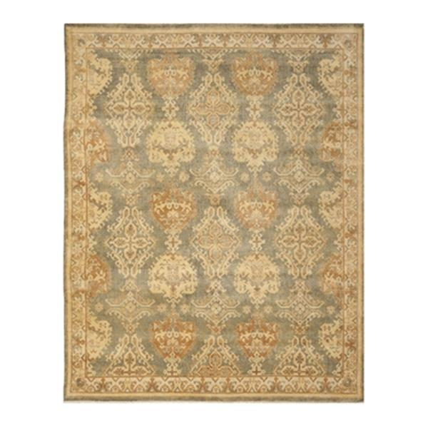Safavieh Oushak Hand Knotted Grey and Ivory Area Rug,OSH125A
