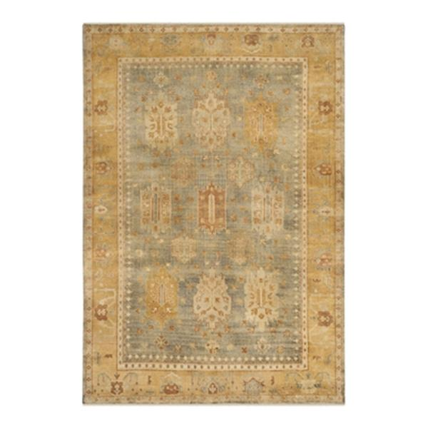 Safavieh Oushak Hand Knotted Grey and Gold Area Rug,OSH126B-