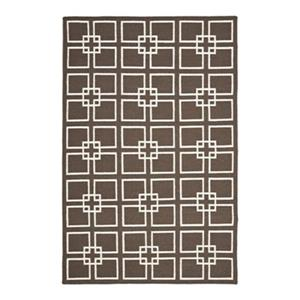 Safavieh Martha Stewart Flat Weave Square Dance Tilled Soil