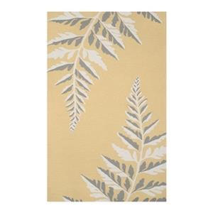 Safavieh Martha Stewart Hand Hooked Ferns Duck's Egg Area Ru