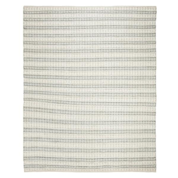Safavieh Natura Grey and Ivory Striped Hand Tufted Area Rug,