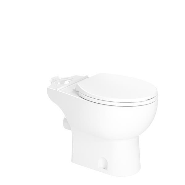 SANIFLO White Elongated Toilet Bowl