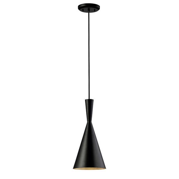 Canarm Ltd Rocco 7.25-In x 64.75-In Black Pendant Light