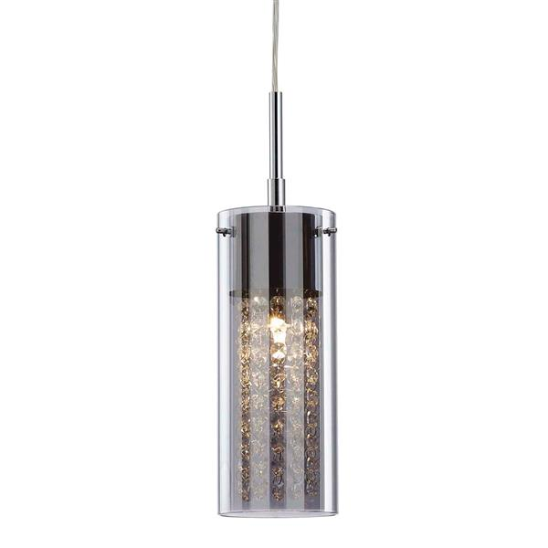 "Canarm Ltd SLOAN Pendant Light - Chrome - 4.75""x64.25"""