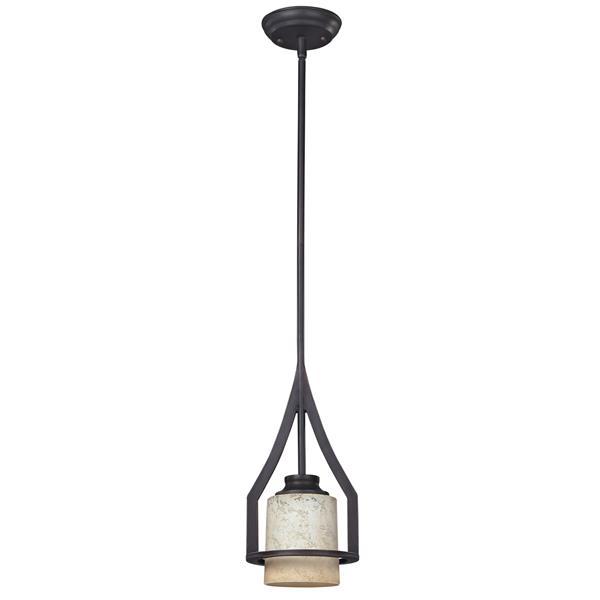 Canarm Ltd Warren  65-In x 65-In Bronze 1-Light Pendant Light