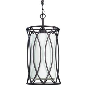 Canarm Ltd MONICA 8.375-in x 17-in Oil Rubbed Bronze Pendant Light
