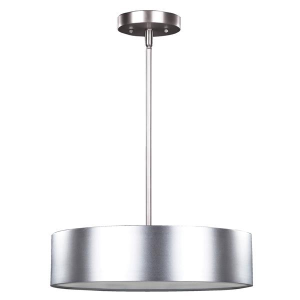 """Luminaire suspendu DEXTER, Aluminum, 15.75"""" x 58.5"""""""
