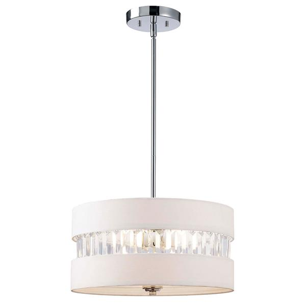 Canarm Ltd BALLARD 17-in Chrome Chandelier