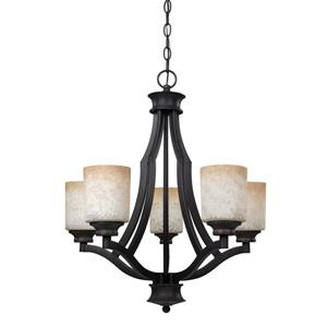 Canarm Ltd Warren 22-in x 24-in Bronze  Chandelier