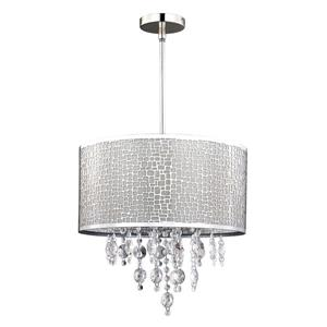 Canarm Ltd BENITO 15.75-in Chrome and Crystal Chandelier