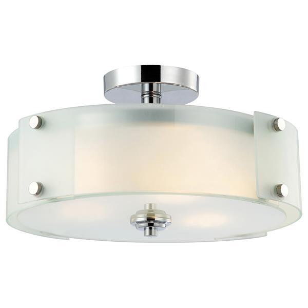 Canarm Ltd Ryker 3 Light Semi Flush Ceiling Light