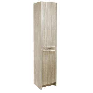 """Armoire latérale, 2 portes, 15,75"""" x 74,75"""", mélamine, chêne"""