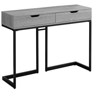 """Table d'appoint Monarch, 41,75"""" x 32"""", composite, gris"""